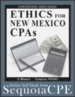 Ethics for New Mexico CPAs