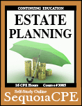 Course# 3085: Estate Planning