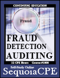 Course# 1000: Fraud Detection Auditing